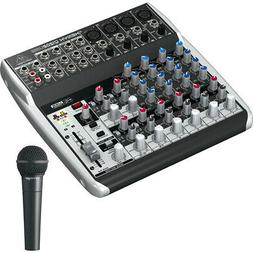 Behringer 12-Channel 2-Bus Mixer with XENYX Preamps + Dynami
