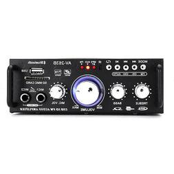 600W Mini 2CH HiFi Digital Audio Stereo Amplifier Preamps FM