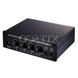 8-Channel Preamp Audio Distributor Amplifier 2 Input & 8 Out
