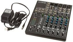 Mackie 802VLZ4, 8-channel Ultra Compact Mixer with High Qual