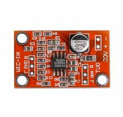 AD828 Stereo Dynamic Microphone Preamplifier Board MIC Pream