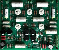 Assembled Stereo Tube preamplifier  +PSU board base on CAT S