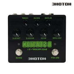 Hotone B Station Bass Preamp and D.I.Wide Tonal Range Guitar