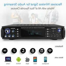 PYLE BLUETOOTH HYBRID PRE AMP AMPLIFIER HOME THEATER STEREO