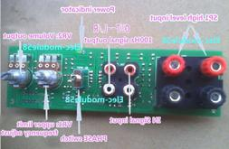 DC 12V Low Pass Filter Preamplifier Board for Subwoofer Volu