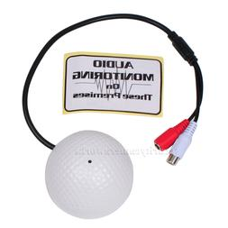 High Sensitive Preamp Microphone for Security Camera Audio S