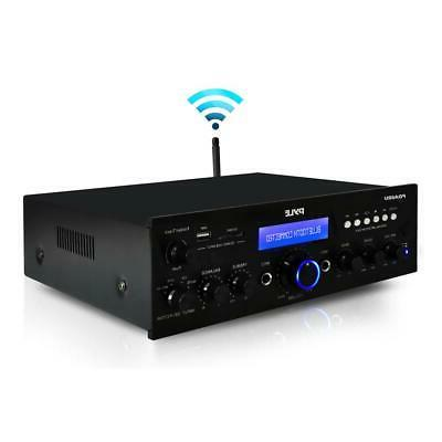 Pyle Bluetooth Home Stereo Amplifier with & Antenna