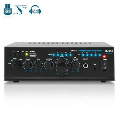 240W COMPACT AUDIO STEREO POWER AMP AMPLIFIER HOME THEATER S