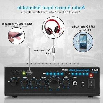 240W COMPACT AUDIO POWER THEATER SYSTEM USB MP3 PLAYER