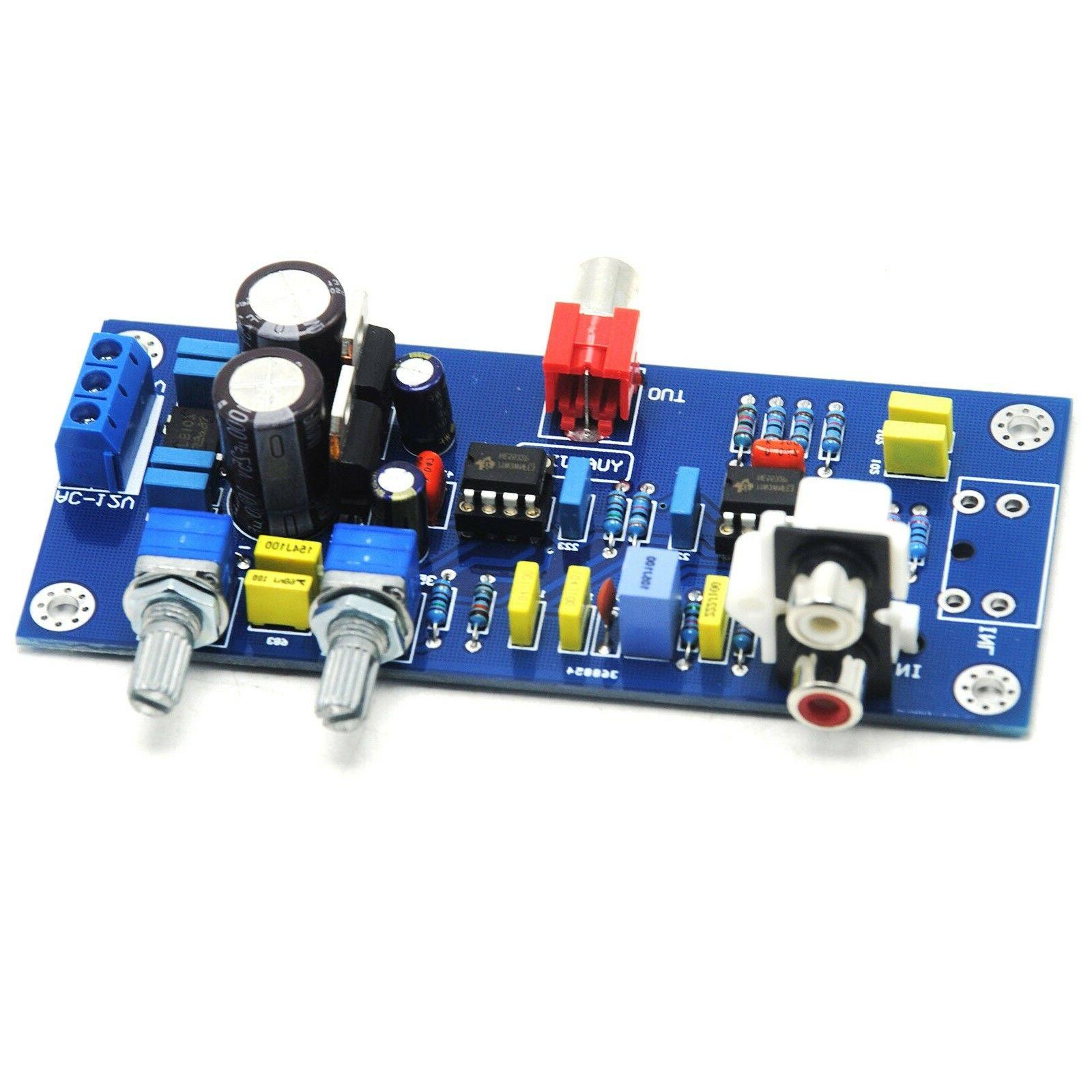 bass preamp low pass volume controlled preamplifier