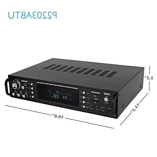 Bluetooth Receiver Wireless Speaker Theater Stereo USB/SD/MP3/AUX/AM/FM, 2000