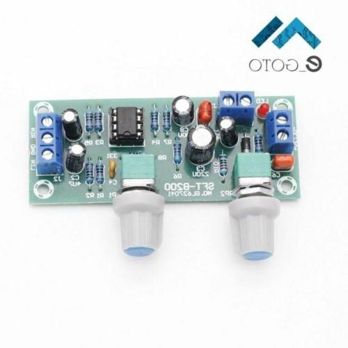 Low-Pass Plate Subwoofer Preamp Board DC