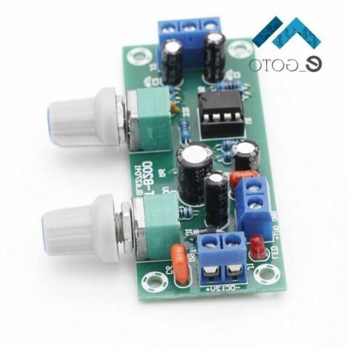 Low-Pass Plate Preamp DC 10-24V