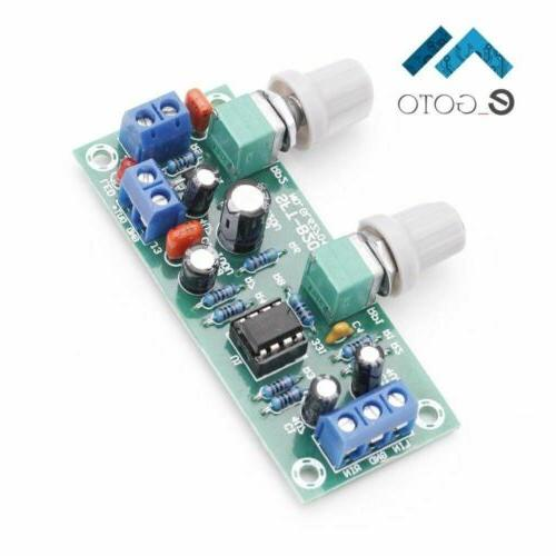 low pass filter plate subwoofer preamp board