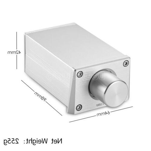 Mini Preamp with Volume Amplifier Active