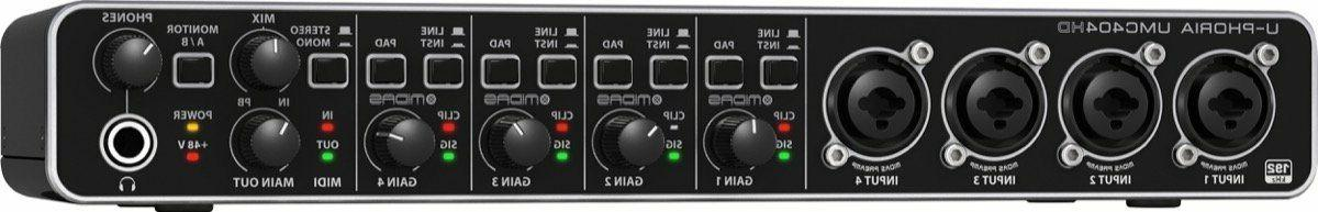 NEW 4-Midas preamps