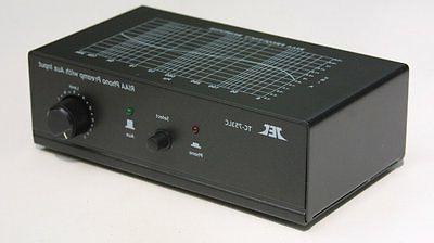 Phono Preamp Amplifier Preamplifier with 2 inputs Control