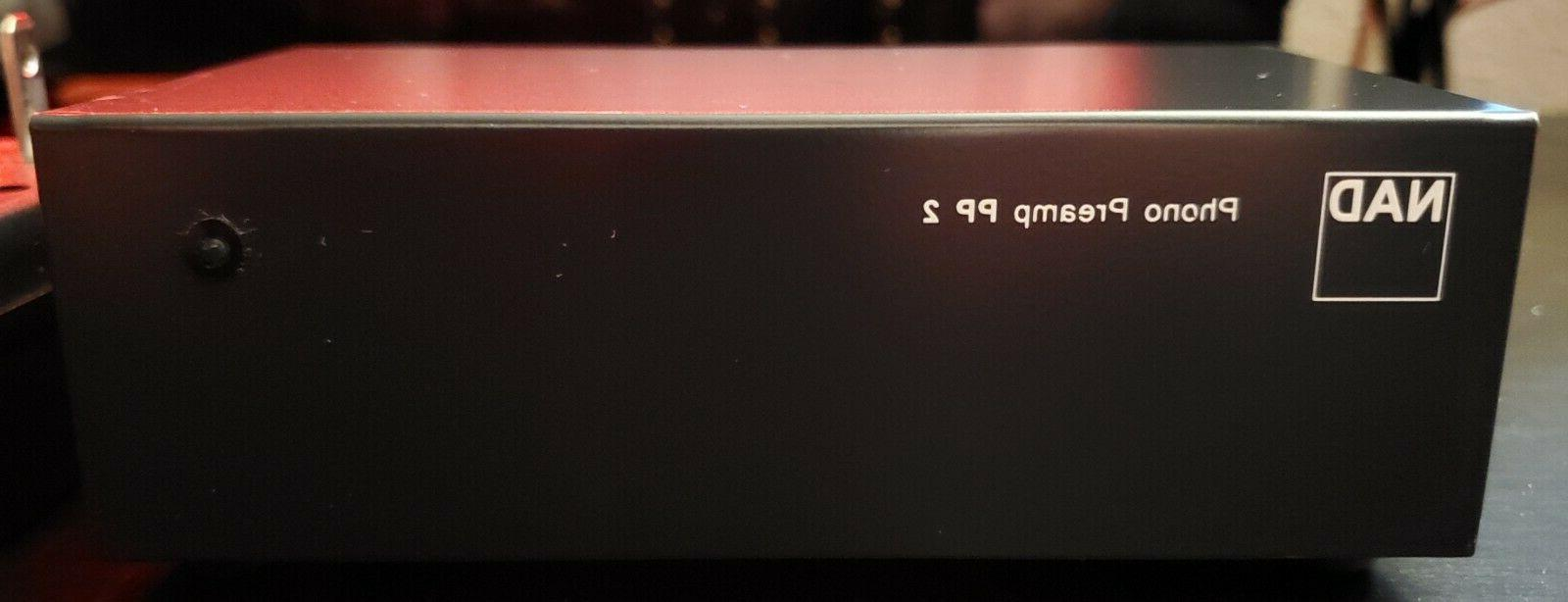 pp 2 phono preamplifier w power supply