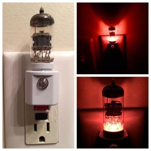 pre amp vacuum tube led night light