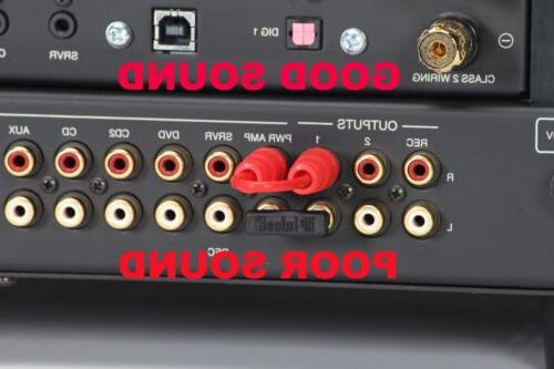receiver integrated amp upgrade rca audio cable