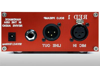 VINTAGE AUDIO: RED PREAMP, MIC PREAMP