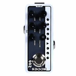Mooer Micro Preamp 005 Brown Sound 3 Guitar Effects Pedal Ba