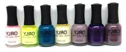 Orly Nail Lacquer 0.6oz/18ml - Pick Any Color Series 3