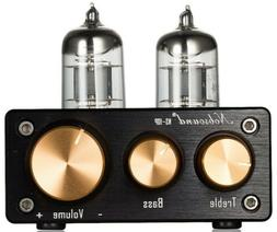 Nobsound NS-10P Vacuum Tube Preamp Stereo Pre-Amplifier Treb