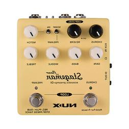 NUX Stageman Floor Acoustic Preamp + DI Effect Pedal with Ch