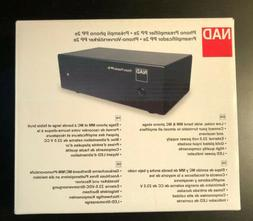 NAD PP 2e -Brand New- Selectable MM/MC Phono Preamplifier Pr