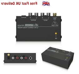 Behringer PP400 Microphono Ultra Compact Phono Preamp Conver