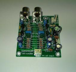 Phono RIAA Preamp With Low Noise Transistors Board Single 12