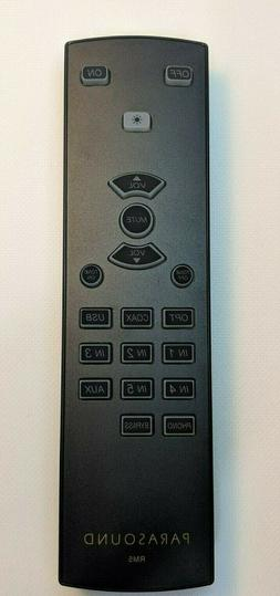Parasound RM5 Remote control for Halo Integrated, Halo P5 Pr