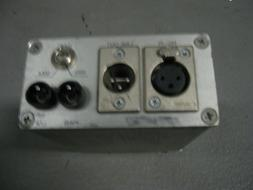 RTS / Telex  Mike Pre amp with Limiter Battery operated
