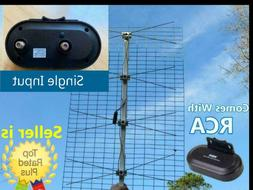 The Ultimate Outdoor TV Antenna Comes With RCA Preamplifier