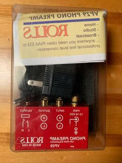 ROLLS VP29 Phono Preamp with RIAA Equalization - NOS